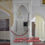 Mimbar Masjid Cat Putih Jepara Di Pemangkat
