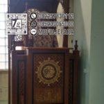 Mimbar Masjid Minimalis Modern Jepara Di Boyolali