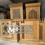 Mimbar Masjid Minimalis Arabic Jepara Di Flores Timur