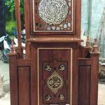 Mimbar Masjid Ukir Klasik Jepara Di Pemangkat