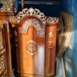 Podium Jati Minimalis Arabic Masjid Yogyakarta
