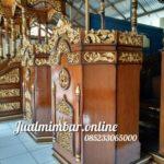 Podium Ukir Harga Murah Masjid Kajen