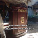 Podium Ukir Minimalis Modern Masjid Sidoarjo