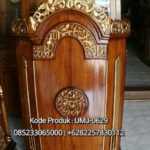 Model Podium Ukiran Kaligrafi Masjid Bondowoso