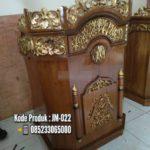 Model Podium Klasik Minimalis Masjid Malang