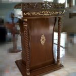 Podium Khutbah Ukuran Sederhana Masjid Bojonegoro