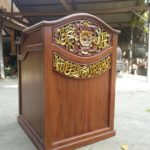 Podium Jati Minimalis Arabic Masjid Pandeglang