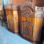 Podium Jati Ukuran Sederhana Masjid Cirebon