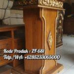 Podium Jati Harga Murah Masjid Kulon Progo