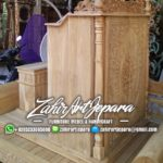Podium Jati Minimalis Arabic Masjid Depok