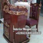 Model Podium Mimbar Khutbah Masjid Ciruas