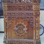 Model Podium Ukiran Khas Jepara Masjid Banyuwangi