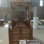 Mimbar Masjid Ukiran Mewah Jepara Di Merangin