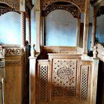 Mimbar Minimalis Ornamen Arabic Masjid Wilayah Poso