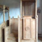 Mimbar Minimalis Ornamen GRC Masjid Besar Polewali Mandar