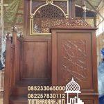 Mimbar Sunnah Ornamen Marocco Masjid Wilayah Penajam