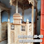 Mimbar Masjid Ornamen Ukiran Masjid Kota Kepulauan Selayar