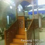 Mimbar Sunnah Ornamen Marocco Masjid Besar Batam